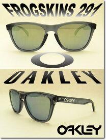 OAKLEY Sunglass FROGSKINS 291 Crystal Black/Black Iridium (オークリー サングラス フロッグスキン クリスタルブラック)