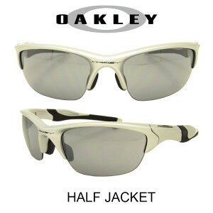 OAKLEY オークリー サングラス (アジアンフィット) ハーフジャケット2.0 シルバー/スレイトイリジウム 野球 ゴルフ(Sunglasses HALF JACKET 9153-02 Silver/Slate Iridium)