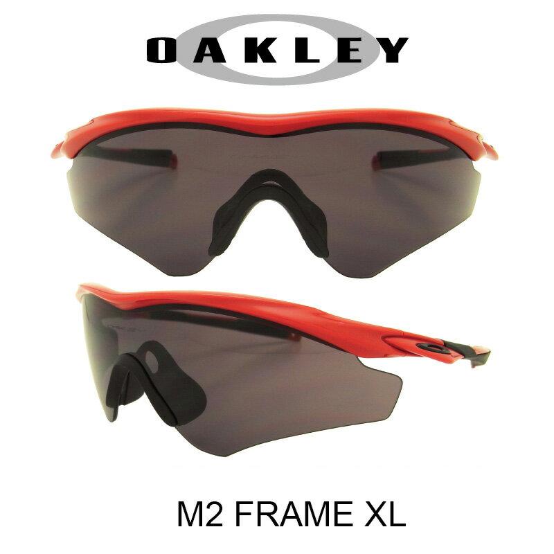 【国内正規品】(アジアンフィット)OAKLEY オークリー サングラス エムツーフレーム エックスエル レッドライン/ワームグレー 野球 ゴルフ(Sunglasses M2 Frame XL 9345-02 Redline/Warm Grey)