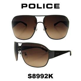 グローバル モデル 【国内正規品】POLICE(ポリス) ポリス サングラス メンズ S8992K 568Y 人気モデル UVカット ティアドロップ ドライブ
