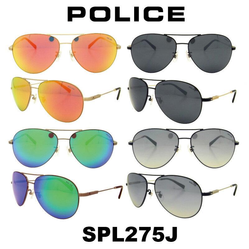 Japan モデル 【国内正規品】POLICE(ポリス) ポリス サングラス メンズ SPL275J人気モデル UVカット アウトドア ドライブ スポーツ ポリス サングラス