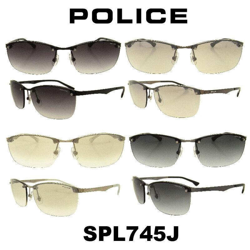【国内正規品】 2018年 POLICE (ポリス) サングラスJapan モデル SPL745J カラー 530N 568S 583X 627L人気モデル UVカット アウトドア ドライブ スポーツ
