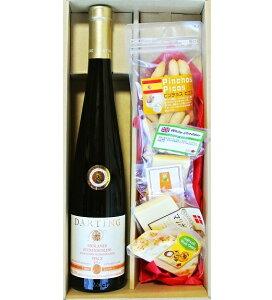 プレゼント ドイツ デュルクハイマー ノンネンガルテン ベーレンアウストレーゼ 極甘口 ワイン &   チーズ・ピコス5種セット