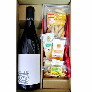 ギフト 赤ワイン ブーントリング ピノ・ノワール & チーズとピコス5種