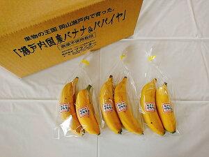 【皮ごと食べられるバナナ】「瀬戸内プチばなな」2本入り3パック