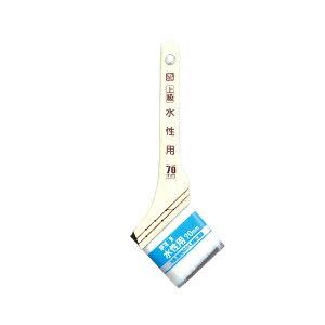 【ゆうパケット】【アサヒペン/ASAHIPEN】CYW-70 PC上級水性用 70mm JAN:4970925220257 【塗装用品:ペンキハケ】