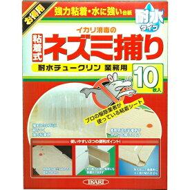 【送料無料】【イカリ消毒】ネズミ用 耐水チュークリン 耐水チュークリン業務用 10枚入 JAN:4906015013522 【防そ(鼠)・防鳥】