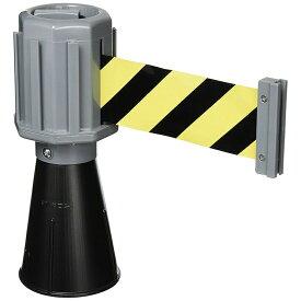 【送料無料】【ミツギロン】SF-50-A バリアライン (NBカラーコーン) トラテープ ブラック・グレー JAN:4978684091217 【路上安全用品/区画整備用品/道路保安用品/】