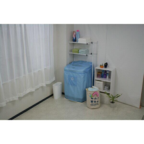 【送料無料】【ミツギロン】SK-33 洗濯機カバーワイド パステルブルー JAN:4978684100070 【家庭用品/洗濯・洗濯用品 洗濯機カバー/】