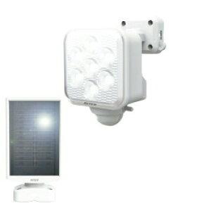 ムサシ ライテックス S-110L 5Wx1灯 LEDソーラーセンサーライト 【送料無料】