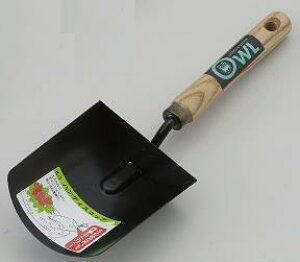 【OWL/オウル】#401E 黒ハンディスコップ JAN:4991524030016 【スコップ/シャベル/ショベル】【園芸/農作業/花壇/庭づくり】