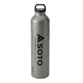 ●【送料無料】【SOTO】SOD-700-10 MUKAストーブ専用ガソリン燃料ボトル・広口フューエルボトル 720ml(ボトル容量1000ml) JAN:4953571097053 【新富士バーナー:シングルバーナー】
