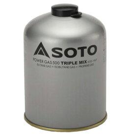 ●【送料無料】【SOTO】SOD-750T パワーガス (500・トリプルミックス) JAN:4953571197500 【新富士バーナー:シングルバーナー】