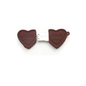 【LOVE らぶチョコタイプ!8GB】おもしろUSBメモリー8GB(メモリ usb USBメモリー ユニーク かわいい プレゼント ギフト パソコン データ フラッシュメモリ 海 夏 サマー ちょこ ハート お菓子 スイーツ 海外 お土産 日本 かわいい バレンタイン ホワイトデー)