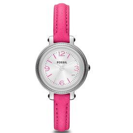 【送料無料】FOSSIL(フォッシル)HEATHER ES3302レディース腕時計【ピンクレザー】( フォッシル へザー 時計 ウォッチ レディース 腕時計 ギフト プレゼント クリスマス )
