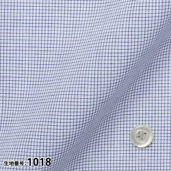 オーダーシャツワイシャツ【送料無料】Yシャツオーダーワイシャツメンズ長袖半袖お手軽オーダー形態安定PLATEAU綿/ポリエステル混紡素材[R10PL1001]