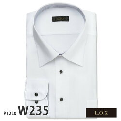 ワイシャツ長袖形態安定メンズ標準L.O.Xトールサイズ[P12S1LO01]