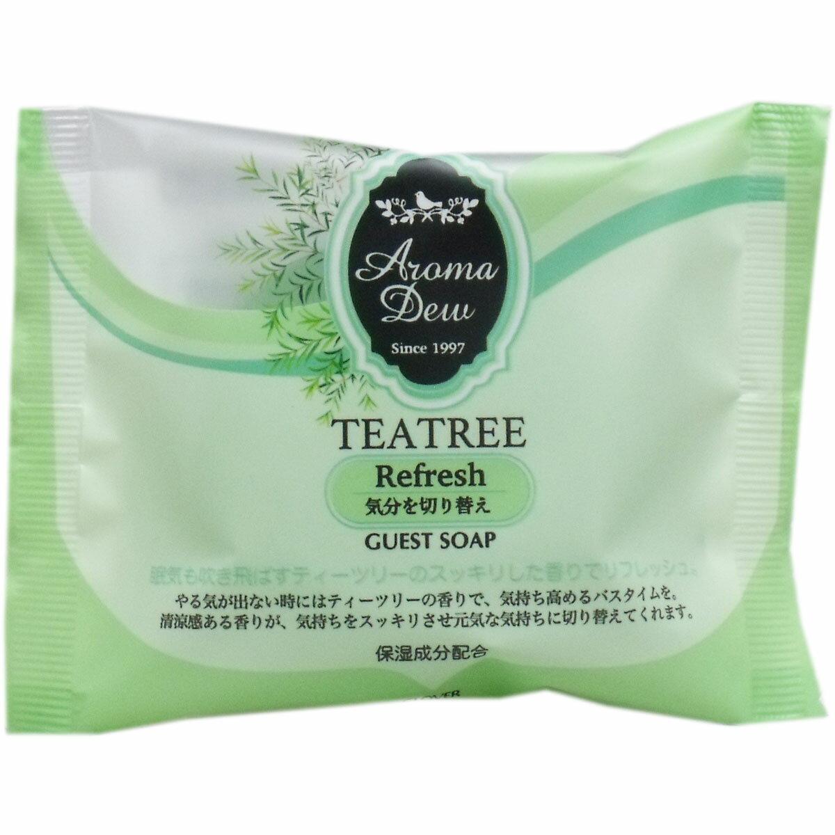 アロマデュウ ゲストソープ ティーツリーの香り (35g)