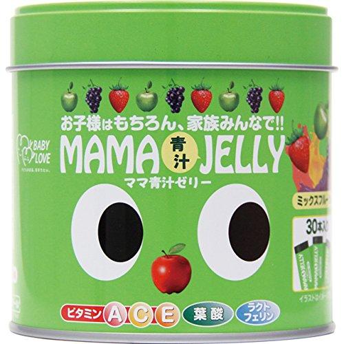 ママ青汁ゼリー 5g×30包 ビタミン 葉酸 青汁 ラクトフェリン おやつ お菓子 ゼリー 【ポイントUP】