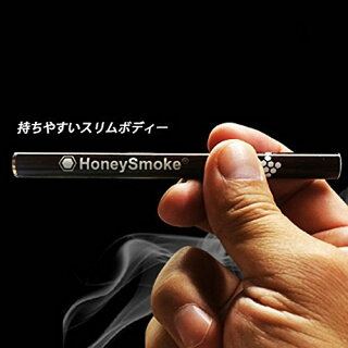 【選べる6種類】ハニースモーク使い切り電子タバコメンソールミント500回分本体タールニコチン0ケース使い切り電子タバコ本体使い捨て充電不要リキッド不要
