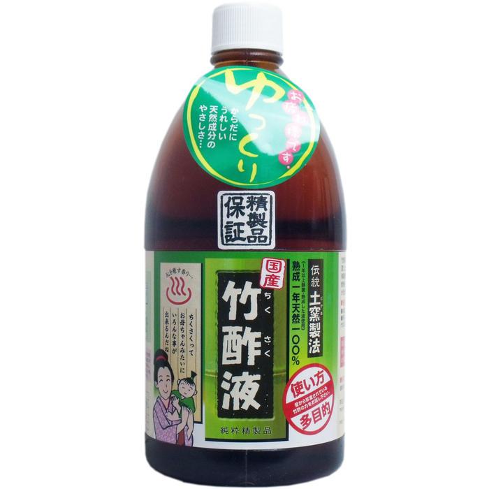 日本漢方研究所 高級竹酢液 1L天然有機成分200種類!消臭剤 入浴剤 ペットニオイ消し 虫よけ洗濯に幅広くご使用いただけます!【プラチナショップ】【プラチナSHOP】