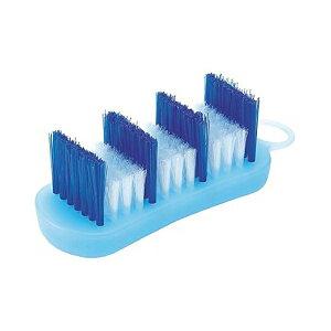 風呂ブタ洗いブラシ (段違いブラシ)風呂蓋洗いブラシ とっても便利♪【マーナ】【プラチナショップ】【プラチナSHOP】