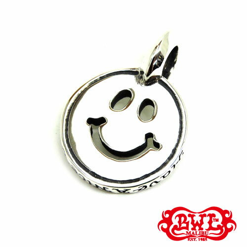 【BWL】Bill Wall Leather ビルウォールレザー【送料無料】【あす楽】/HAPPY FACE ハッピーフェイスチャーム