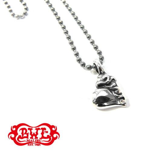 【BWL】Bill Wall Leather ビルウォールレザー【送料無料】【あす楽】/GOTHIC HEART ゴシックハートペンダント/ハート