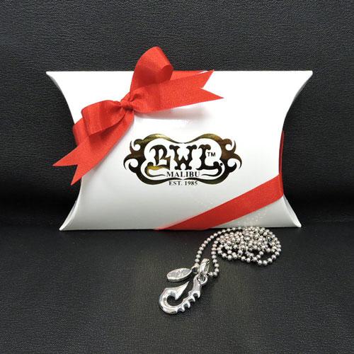 【BWL】Bill Wall Leather ビルウォールレザー【送料無料】【あす楽】【当社オリジナルセット】シルバー磨き布プレゼント!フィッシュフック+2.5mmボールチェーン50cm+シルバー磨き布、BWLステッカー+ボックスセット