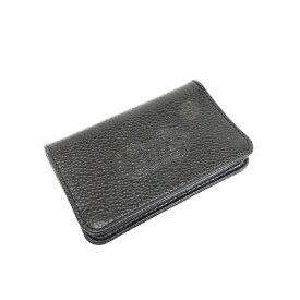 【BWL】Bill Wall Leather ビルウォールレザー【送料無料】【あす楽】CARD WALLET/FLAT BLACK カードウォレット/フラット ブラック/カードケース/名刺入れ