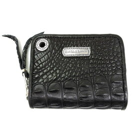 【BWL】Bill Wall Leather ビルウォールレザー【送料無料】【あす楽】/SMALL COIN ZIP WALLET / ALLIGATOR/HORN BACK MIDDLE PART/ワニ革