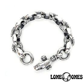 【LONE ONES】ロンワンズ【送料無料】【あす楽】/MF Bracelet: Heron ヘロン/シルバーブレスレット