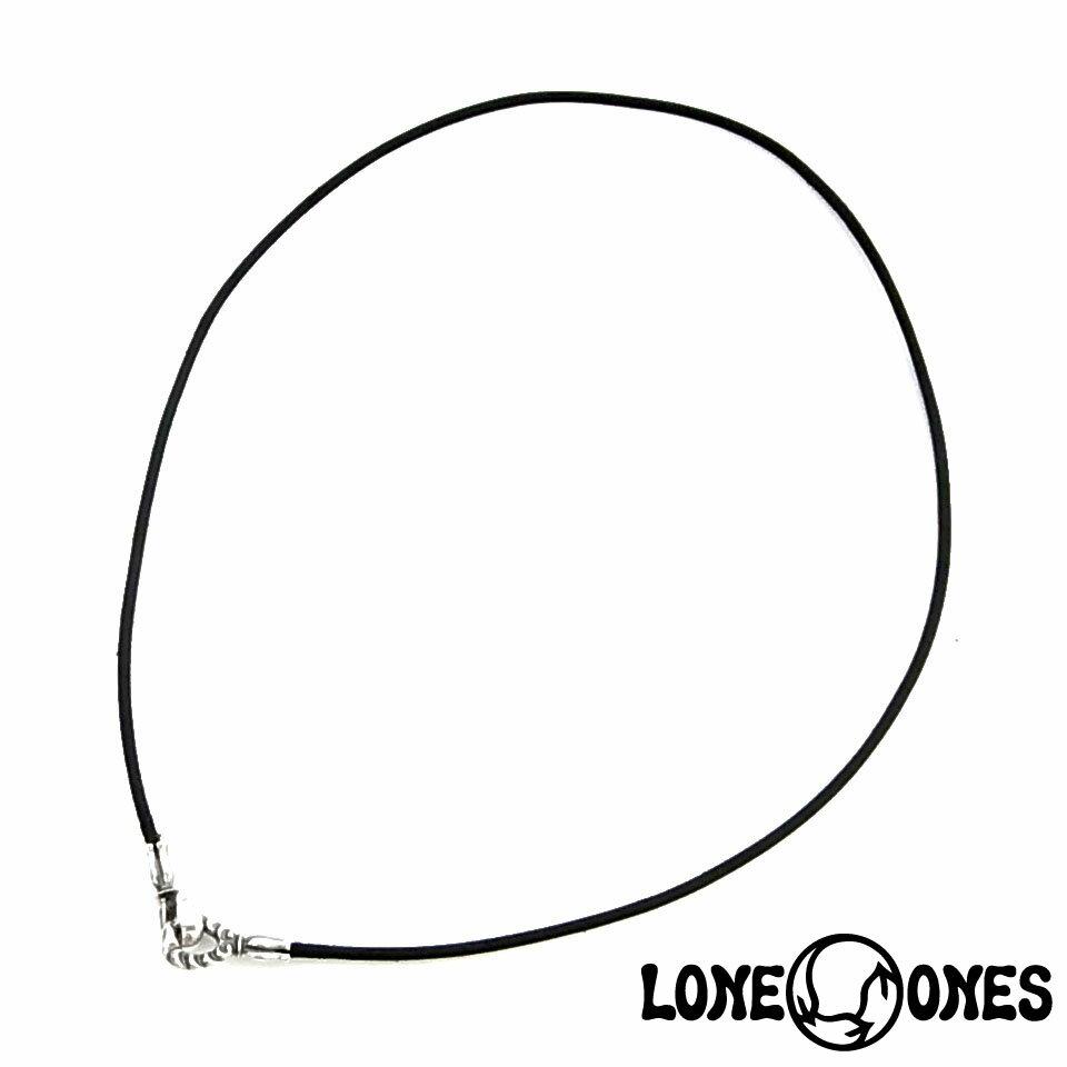 【LONE ONES】ロンワンズ【送料無料】【あす楽】/MF Hooks: Small - 2.0mm Leather Cord (BK) 16 - 20 スモール-2MM レザーコード ブラック 40CM-50CM