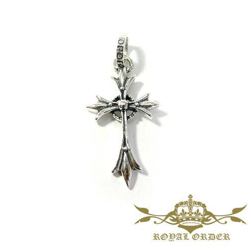 【ROYAL ORDER】ロイヤルオーダー【送料無料】【あす楽】/CRANE CROSS/クレーンクロスペンダント/シルバー/クロス/十字架