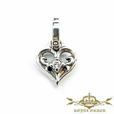 【ROYAL ORDER】ロイヤルオーダー【送料無料】【あす楽】/SMALL ALLEGRA HEART w/DIAMOND スモールアレグラハートw/ダイヤモンド