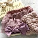 出産祝い 女の子【3段チュールブルマ&コットンリブ SET】日本製 箱入り 紙袋 靴下8-11cm ラッピング ブルマスカート …