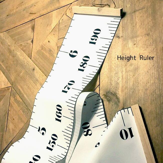 Height Ruler 身長計 壁掛け 木製 子供 キッズ 家族みんなで使える 壁掛け身長計 フィート センチ シンプル
