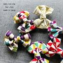 Kufuu【 コットンリボン 】ヘアクリップ 日本製綿100% 袴ロンパース 素材 和風 お正月 髪飾り 和装 着物 ひな祭り 和…