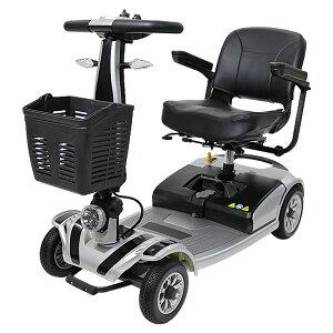 送料無料 新品 電動シニアカート 銀 シルバーカー 車椅子 TAISコード取得済 運転免許不要 折りたたみ 軽量 コンパクト 電動カート 四輪車 4輪車 移動 高齢者 充電 シート回転 電動車いす 電動