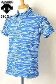 デサントゴルフ DESCENTE GOLF半袖ポロシャツ メンズ 2021春夏新作 送料無料M-L-O トップス デサント ゴルフあす楽_翌日着荷可