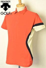 デサントゴルフ DESCENTE GOLF半袖ポロシャツ メンズ 2021春夏新作 送料無料M-L-O トップス デサント ゴルフ【platon】