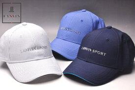 楽天ランキング1位受賞!ランバン スポール ゴルフ LANVIN SPORTキャップ メンズ 2020春夏新作56-60 帽子 ランバン スポールあす楽_翌日着荷可