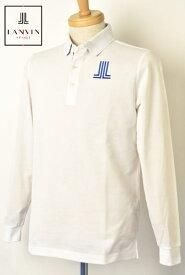 ランバン スポール ゴルフ LANVIN SPORT長袖ポロシャツ メンズ 2021春夏新作 送料無料M-L-LL トップス ランバン スポールあす楽_翌日着荷可