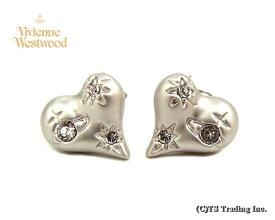 Vivienne Westwood ヴィヴィアンウエストウッド★Alice Heart Orb Pierced Earrings アリス オーブ ピアス(SV)【あす楽対応】【YDKG-k】【W3】【送料無料】