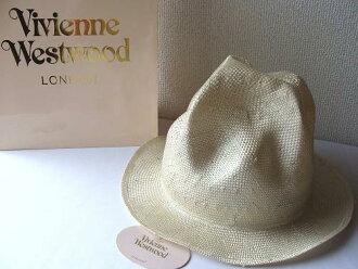 ◆Vivienne Westwood◆維維恩維斯特伍德★Straw Mountain hat限定☆麥桿、山帽子(天然)