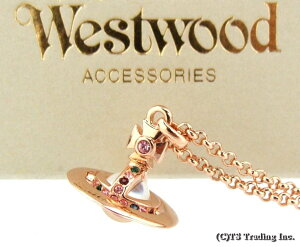 Vivienne Westwood ヴィヴィアンウエストウッド NEW Petite Orb Pendant 新 プチ オーブ ペンダント PINK GOLD【あす楽対応】【YDKG-k】【W3】【送料無料】【smtb-k】