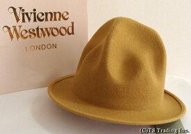 Vivienne Westwood ヴィヴィアンウエストウッド★Felt Mountain hat 限定☆フエルト・マウンテン ハット(Bright Yellow)【送料無料】【あす楽対応】【YDKG-k】【W3】