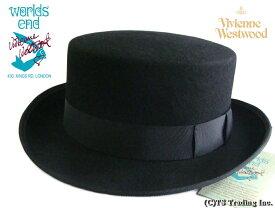 Vivienne Westwood ヴィヴィアンウエストウッド★John-Bull hat 限定☆ジョンブル・ハット(BLACK)ワールズエンド ロンドン【あす楽対応】【YDKG-k】【W3】【送料無料】