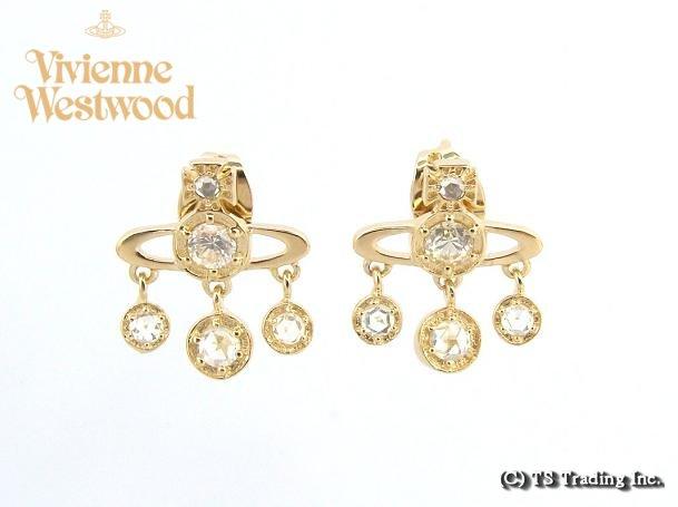 Vivienne Westwood ヴィヴィアンウエストウッド Annette Orb Pierced Earrings☆アネット オーブ ピアス (GOLD)【あす楽対応】【YDKG-k】【W3】【送料無料】