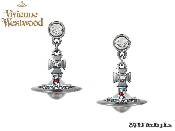 Vivienne Westwood ヴィヴィアンウエストウッド★New Tiny Orb Pierced Earrings(GM) 新・タイニー オーブ ピアス (ガンメタ)【あす楽対応】【YDKG-k】【W3】【送料無料】【smtb-k】
